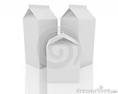 Pacote do leite