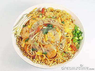Pad Thai & Shrimp