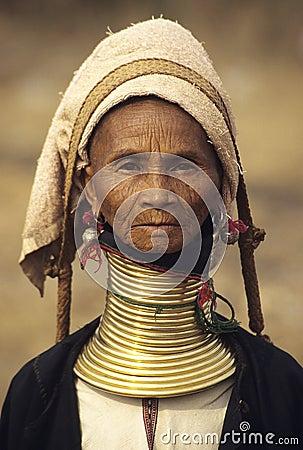 Free Padaung Tribe 3 Royalty Free Stock Photography - 15196207