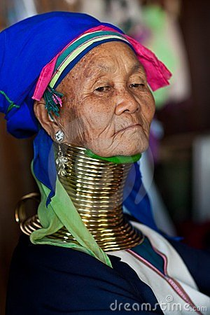 Padaung Tribe woman Editorial Photography