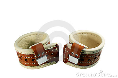 Padded wrist restraints isolated