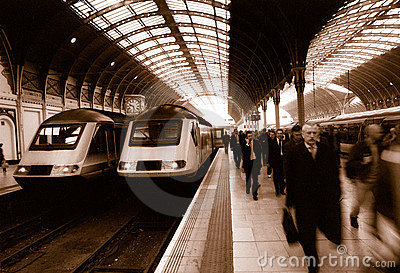 Paddington Station in London Editorial Image