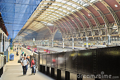 Paddington Train Station Editorial Stock Photo