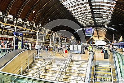 Paddington Train Station Editorial Image