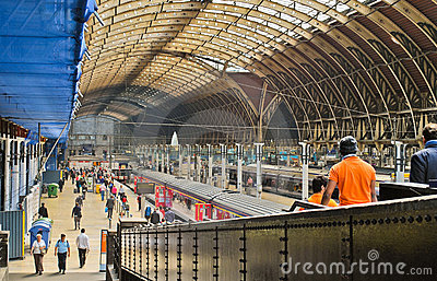 Paddington Train Station Editorial Photo