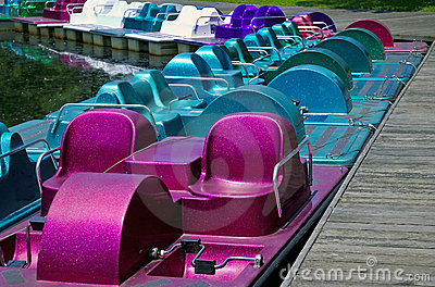 Paddle Boats Royalty Free Stock Photography - Image: 169447