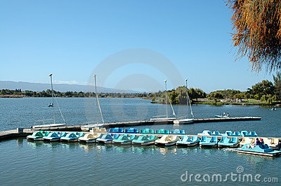 Paddle Boats Stock Photos - Image: 274153