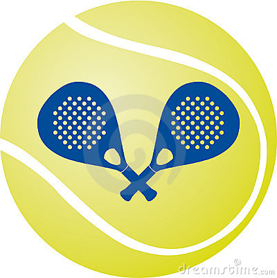 Paddle - Tennis Vector Illustration