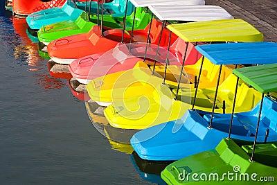 A paddle wheel