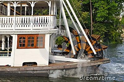 Paddle Wheel River Boat