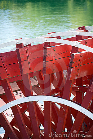 Free Paddlewheel Of Riverboat. Stock Images - 4488624