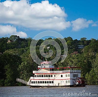 Free Paddlewheel Riverboat Royalty Free Stock Photo - 5583495