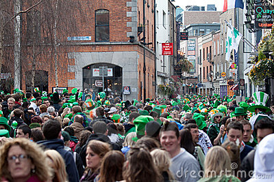 Paddy s Day Editorial Stock Image