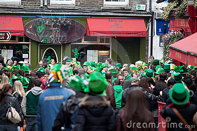 Paddy s Day Editorial Image