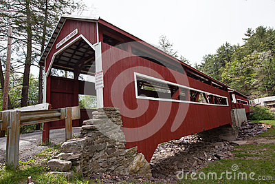 Paden Twin Covered Bridges Forks Pennsylvania