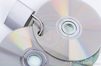 Padlock and discs