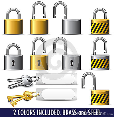 Padlock and Key lock