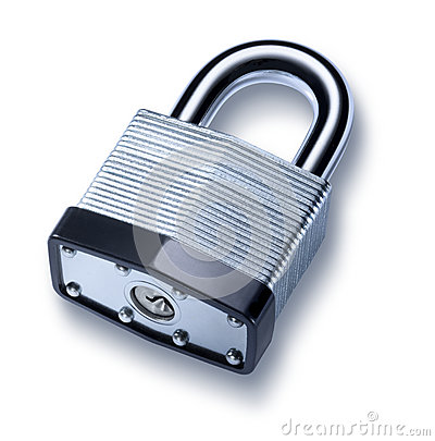 Free Padlock Lock Stock Photo - 27770140