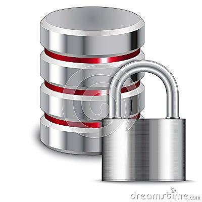 Padlock Protects Database