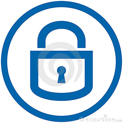 Free Padlock Vector Icon Stock Images - 5950854