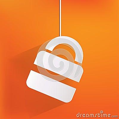 Padlock web icon