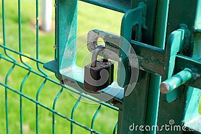 Padlocked Gate