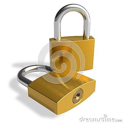 Free Padlocks Royalty Free Stock Images - 16195059