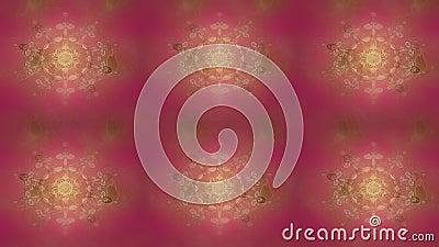 Padrão de aniversário bonito em roxo, neutro e branco filme