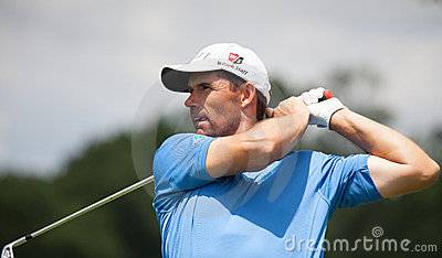 Padraig Harrington at the 2011 US Open Editorial Stock Photo