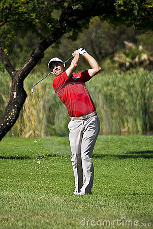 Padraig Harrington op 17de Fairway - NGC2010 Redactionele Foto