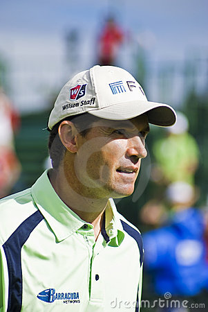 Padraig Harrington - Side Profile - NGC2010 Editorial Stock Image