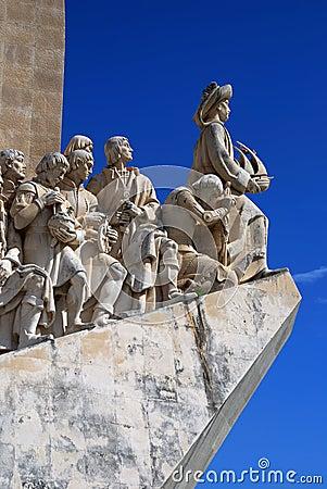 Padrao dos Descobrimentos, Lisbon Editorial Photo