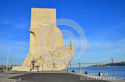 Padrao dos Descobrimentos, Lisbon Editorial Image