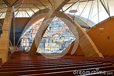 Padre Pio Pilgrimage Church Editorial Image