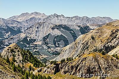 Paesaggio in alpi