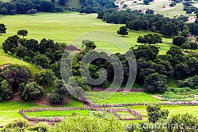 Paesaggio della valle