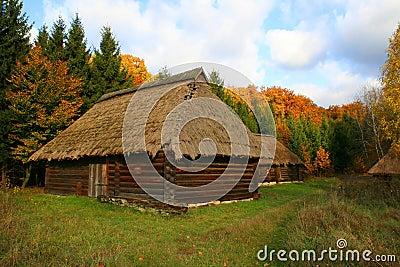 Paesaggio di autunno delle case di campagna fotografia for Prezzi delle case di campagna