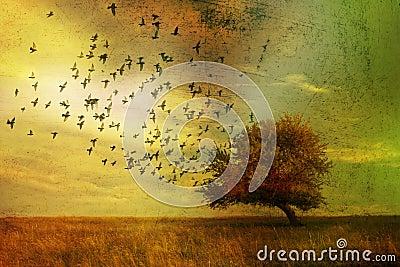 Paesaggio di fantasia
