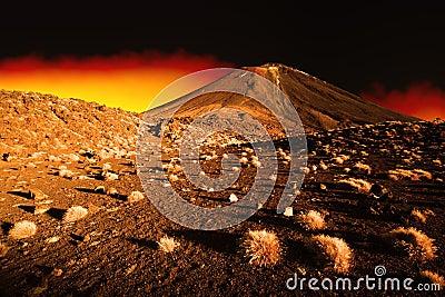 Paesaggio di inferno