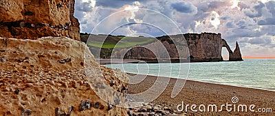 Paesaggio in Normandia