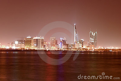Paesaggio urbano di Manama