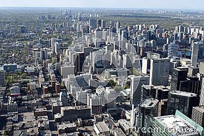 Paesaggio urbano di Toronto