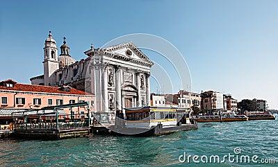 Paesaggio urbano veneziano Fotografia Editoriale