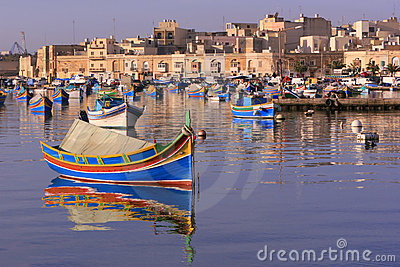 Paesino di pescatori #4 di Marsaxlokk