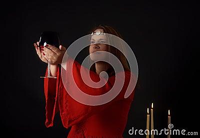 Pagan woman