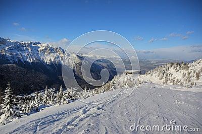 Paganella skiing