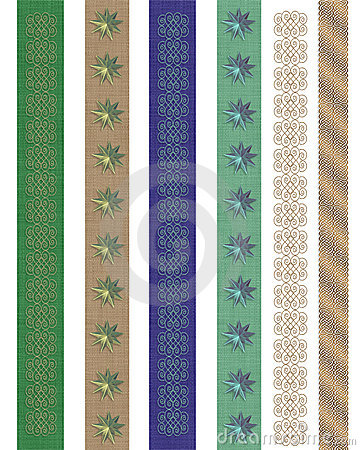 Page borders decorative Stationery