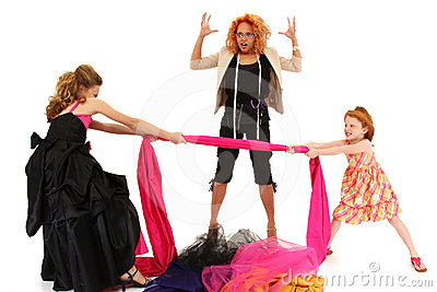 Pageant Girls Fighting Over Dress Designer