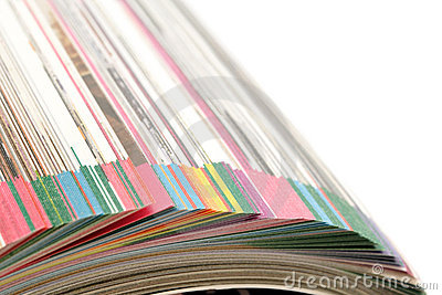 Pages of catalogue
