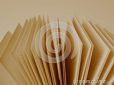 Pages d un livre ouvert